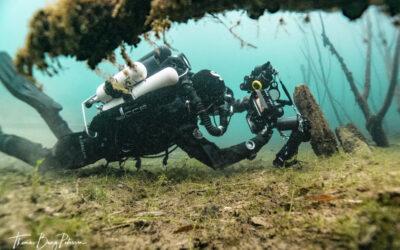 Dykning i Hemmoor Kreidesee