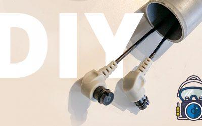 DIY Fiber optisk blitz kabel opbevaring / transport